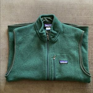 Patagonia Better Sweater Vest. Forest Green. Sz. M